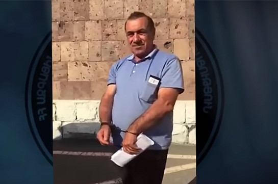 """Водителью экс-спикера парламента Армении по делу """"1 марта 2008 года"""" предъявлено обвинение"""