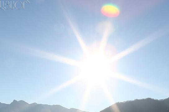 Օդի ջերմաստիճանը 21-25-ն աստիճանաբար կբարձրանա 5-7 աստիճանով