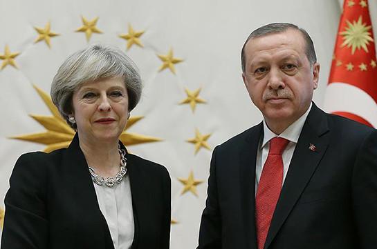 Мэй и Эрдоган обсудили Сирию и Турцию