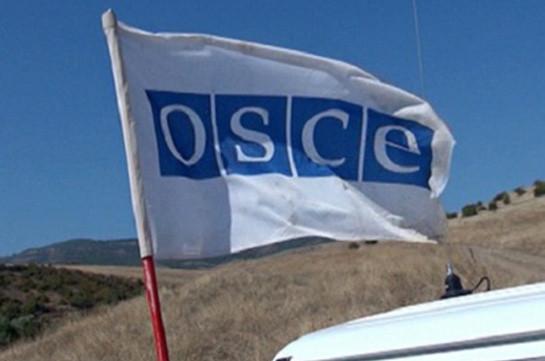 Мониторинг ОБСЕ на линии соприкосновения ВС Арцаха и Азербайджана прошел в соответствии с графиком