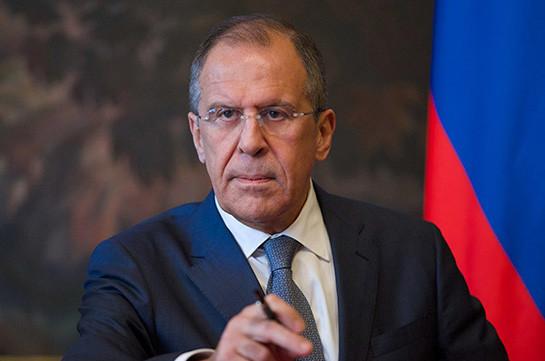 Лавров: В Москве считают внутренним делом Армении проходящие расследования в отношении бывших руководителей