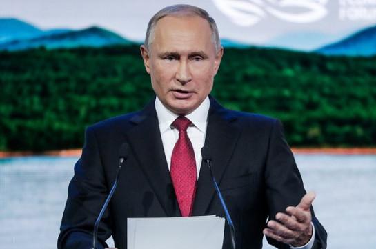 Putin: Peace treaty first, N. islands later