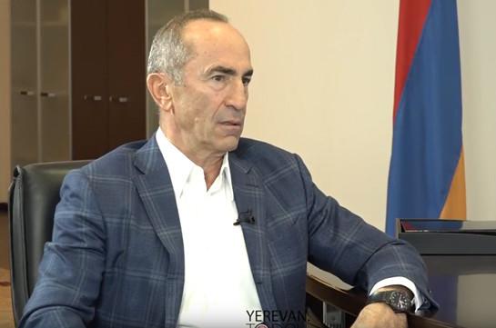 В Армении рождается диктатор – Роберт Кочарян о Николе Пашиняне (Видео)
