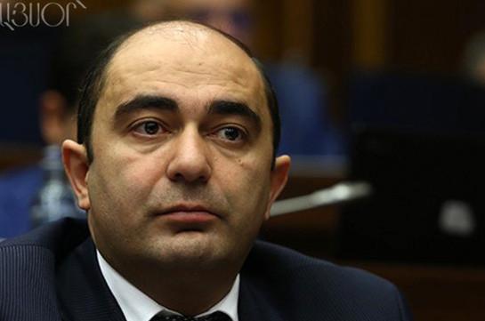 Следственная комиссия не может быть сформирована, если по данному вопросу возбуждено уголовное дело – Эдмон Марукян