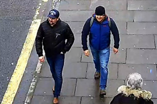 Skripal suspects: 'We were just tourists in Salisbury'