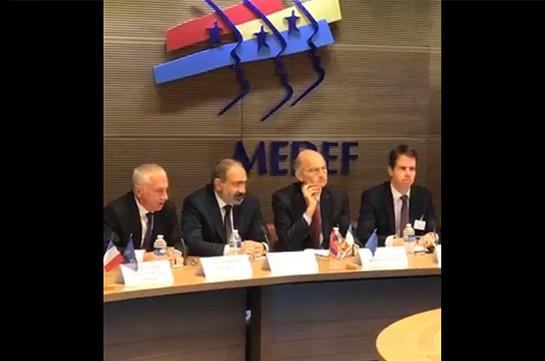 На момент моего избрания премьером «Carrefour Armenia» был единственным супермаркетом, который работал в соответствии с законом – Никол Пашинян