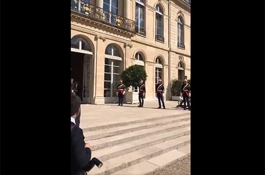 В Париже стартовала встреча Никола Пашиняна с Эммануэлем Макроном  (Видео)