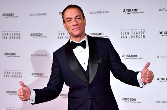 World famous movie star Jean-Claude Van Damme to arrive in Armenia