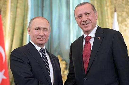 Эрдоган надеется на позитивный диалог с Путиным по Сирии