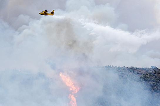 Անթալիայում անտառ է այրվել