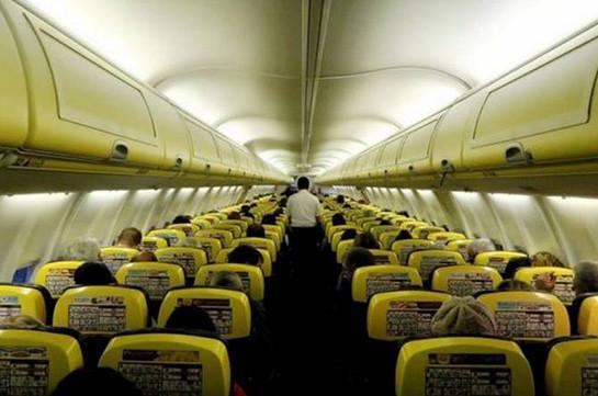 Հնդկաստանում ավելի քան  30 մարդ է տուժել ինքնաթիռի ներսում ճնշման անկման հետևանքով