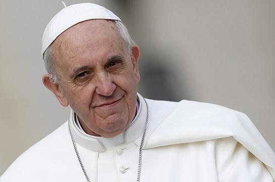Папа Римский Франциск призвал молодежь уважать родителей
