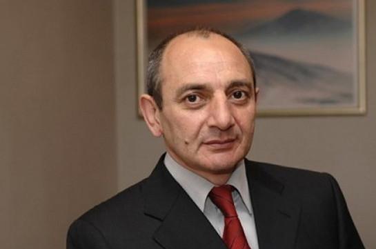 Բակո Սահակյանը շնորհավորական ուղերձ է հղել Հայաստանի Հանրապետության անկախության 27-րդ տարեդարձի կապակցությամբ