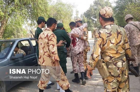 На военном параде в Иране произошел теракт