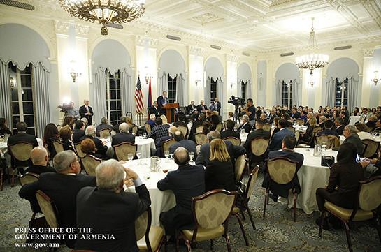 Никол Пашинян: В отношениях Армения – Диаспора должна поощряться не благотворительность, а работа