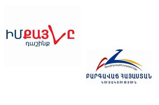В Совет старейшин Еревана войдут блоки «Мой шаг» и «Луйс», партия «Процветающая Армения», мэром Еревана станет Айк Марутян