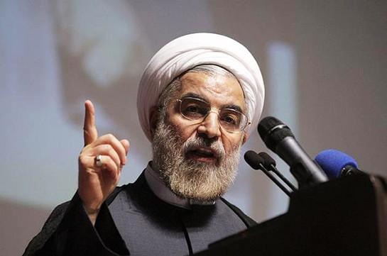 Роухани не исключил, что Иран может перекрыть Ормузский пролив