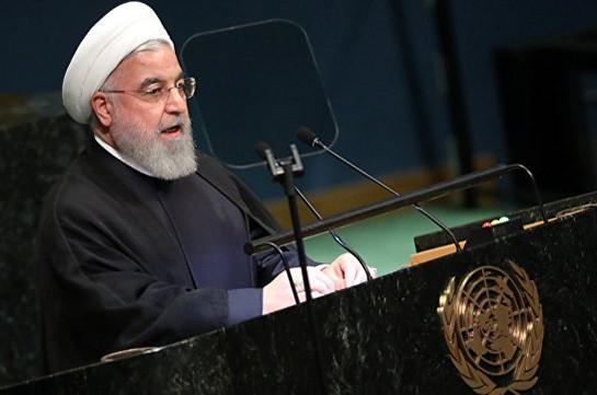 Роухани призвал США вернуться к переговорам в рамках ООН