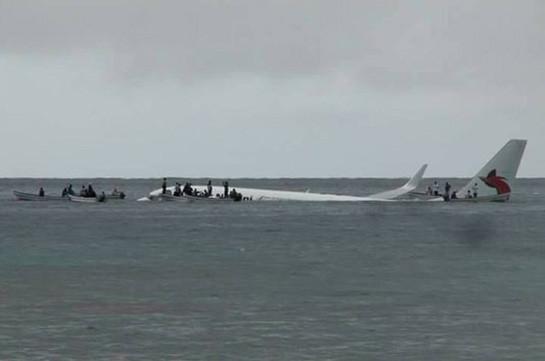 Passenger Plane Misses Runway, Crash-Lands in Ocean