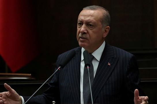 Эрдоган заявил, что ЕС затягивает процесс вступления Турции в союз
