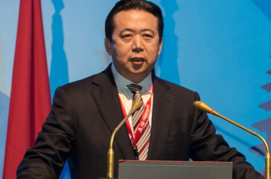 Image result for Meng Hongwei
