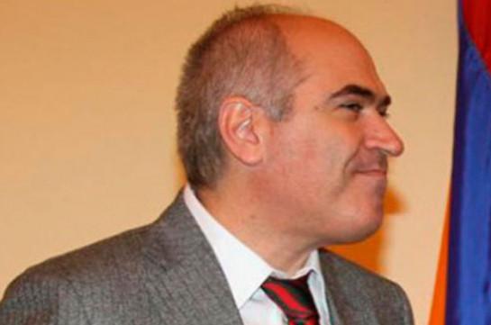 Самвелу Майрапетяну предъявлено обвинение в пособничестве во взяточничестве – ССС подтверждает