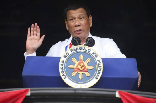 Philippines' Duterte says tests show he doesn't have cancer