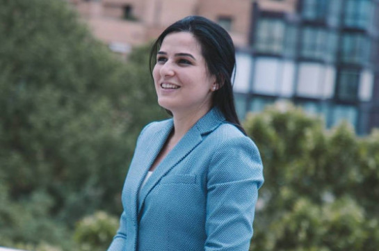 Anna Naghdalyan appointed Armenia's Foreign Affairs Ministry spokesperson
