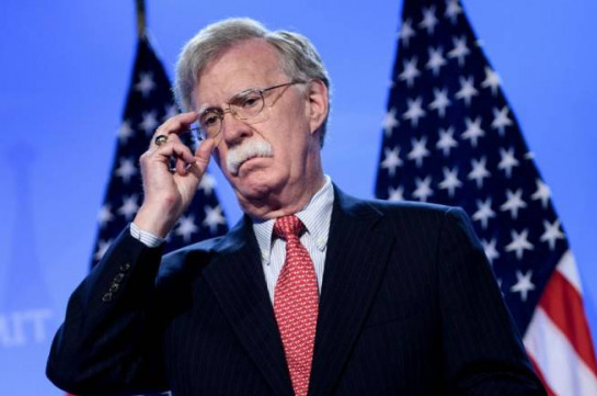 John Bolton to arrive in Armenia to advance American interests on a range of security issues