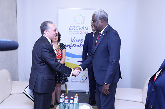 Expansion of relations with African continent Armenia's priority: Armenia's FM