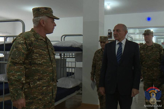 New military unit opens in Nagorno Karabakh Defense Army