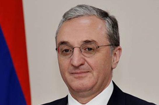 Armenia's FM to depart for Luxemburg