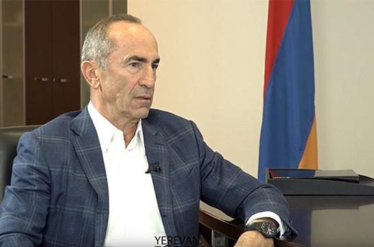 Для меня никогда не было самоцелью занять какую-то должность – интервью Роберта Кочаряна Bloomberg