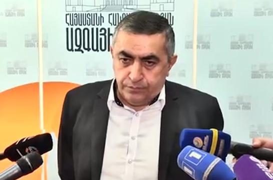 Если думаете, что скорейшее проведение выборов означает – Армению на следующий день ждет богатство, то глубоко ошибаетесь – Армен Рустамян