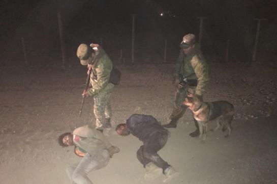 Մեկ գիշերում հայ-թուրքական սահմանին 4 սահմանախախտ է բերման ենթարկվել (Լուսանկարներ)