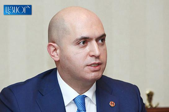 U.S. Ambassador reveals Washington's real intentions in Karabakh issue: Armen Ashotyan