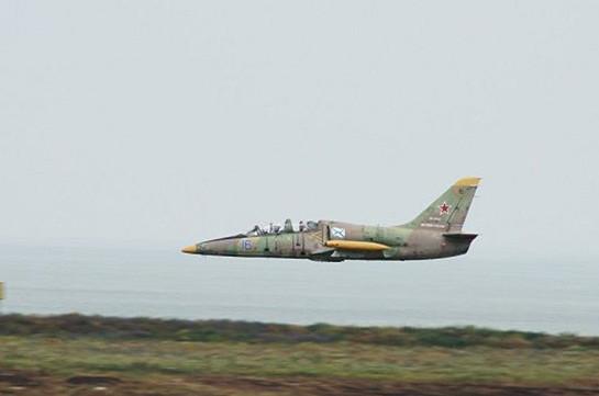 Կուբանում վթարված Լ-39 ինքնաթիռի օդաչուներին հաջողվել է ինքնանետում իրականացնել