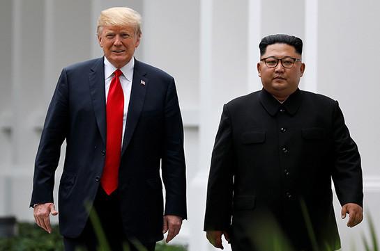 Թրամփի և Կիմ Չեն Ինի երկրորդ հանդիպումը կարող է տեղի ունենալ 2019-ի սկզբին