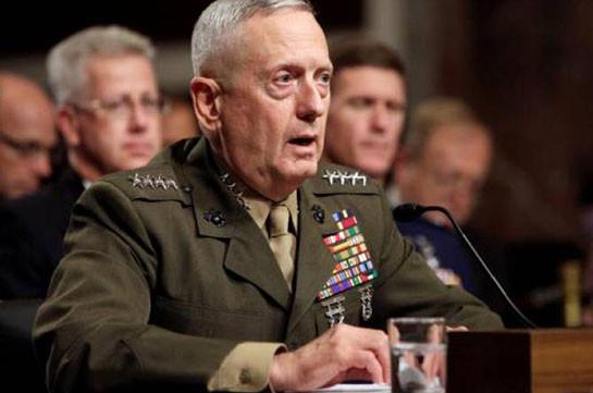 Конгрессмены призвали Трампа оставить Мэттиса на посту главы Пентагона