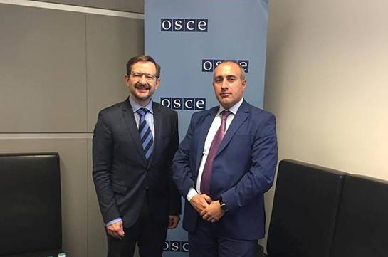 ԵԱՀԿ-ն կաջակցի Հայաստանին կոռուպցիոն հանցագործությունների քննության առավել արդյունավետ համակարգ ներդնելու հարցում