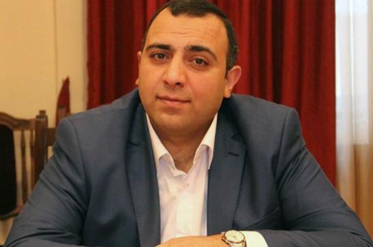 Директор ЗАО «Национальный центр охраны психического здоровья» Нарек Ванесян освобожден от должности