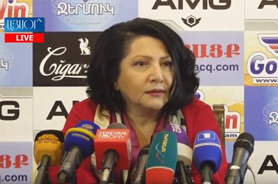 Businesswoman Silva Hambardzumyan transferred 8 million USD bribe to ex Nature Protection Minister Aram Harutyunyan