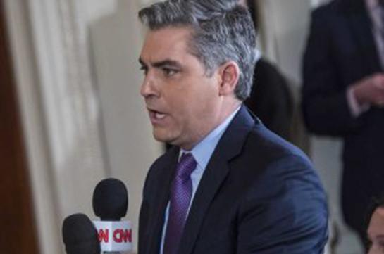 ԵԱՀԿ-ն կոչ է արել վերադարձնել CNN-ի թղթակցի Սպիտակ տան անցագիրը