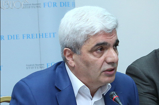 Pro-western political analyst Stepan Grigoryan to participate in snap elections with Sasna Tsrer party