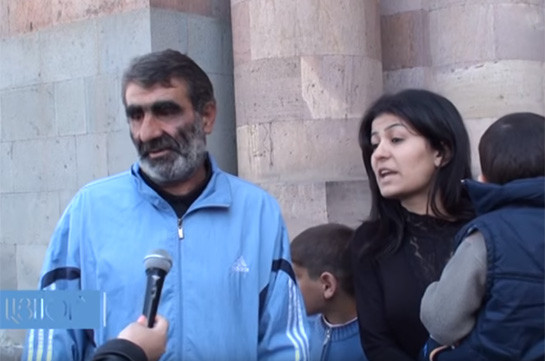 Ավագանու նիստում որոշվեց 10 տարով անհատույց բնակարան տրամադրել 14 երեխա ունեցող Վիրաբ Շաբոյանին