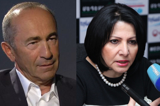 Armenia's second president files lawsuit against businesswoman Silva Hambardzumyan for libeling