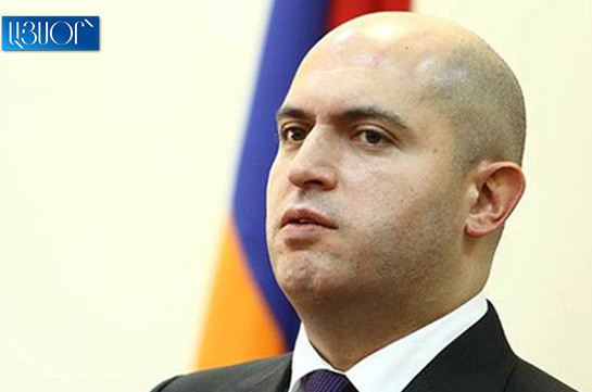 Republican party's participation in snap parliamentary elections to really promote development of democracy in Armenia: Armen Ashotyan