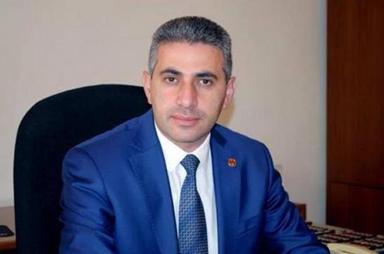 Edgar Ghazaryan recalled from post of Armenia's ambassador to Poland