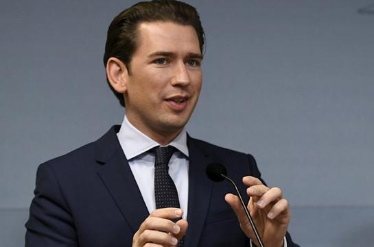 Կուրցը հայտարարել է, որ Ավստրիան կենտրոնացած է Ռուսաստանի հետ երկխոսության վրա