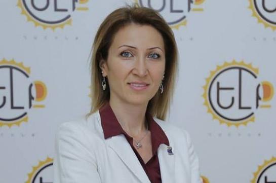 Мане Тандилян заявила о сложении полномочий министра